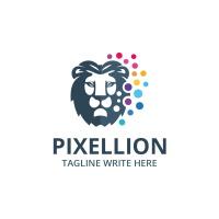 Pixel Lion Logo