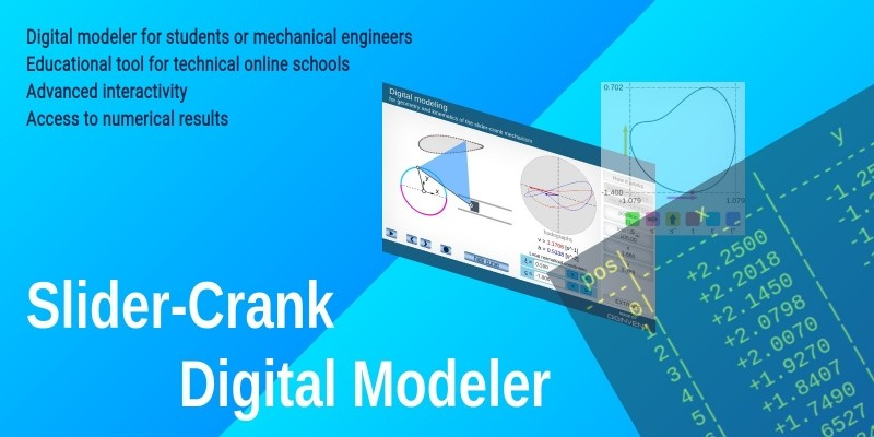 Slider Crank Digital Modeler