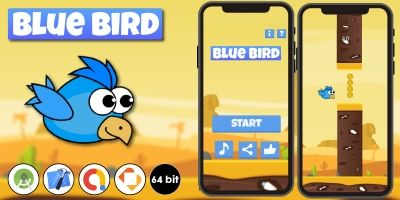 Blue Bird - Buildbox Template