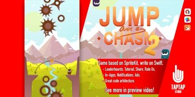 Jump Over a Chasm 2 - iOS Template