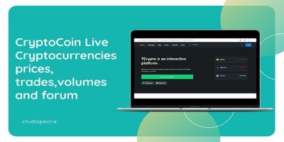 CryptoCoin Live - Cryptocurrency Script