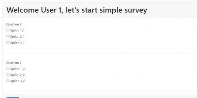 ASP.NET Core Survey Builder with Source Code