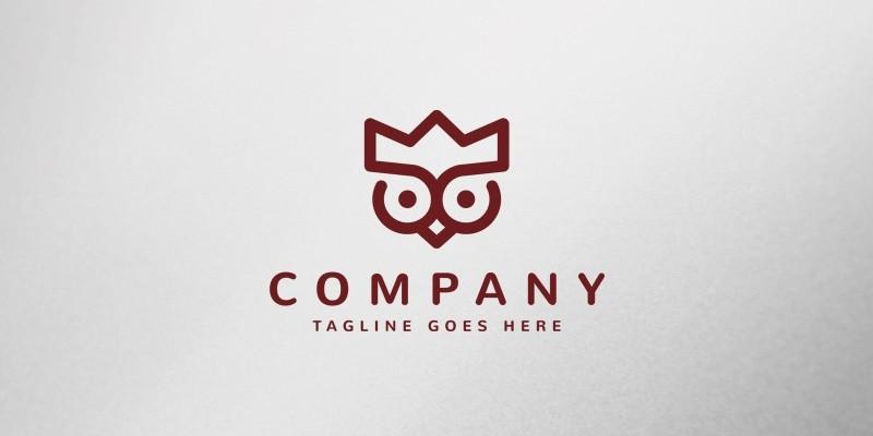 Royal Owl Logo Template