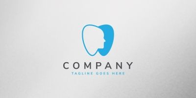 Dentist Care Logo Template