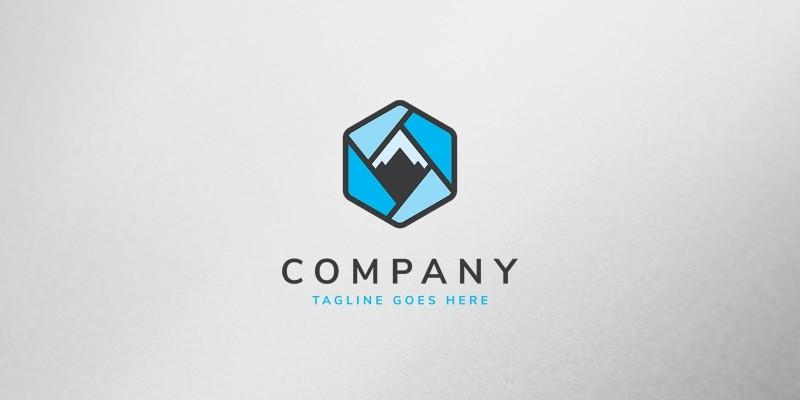 Mountain Box Logo Template