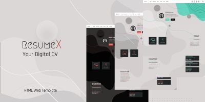 ResumeX -Resume HTML Template