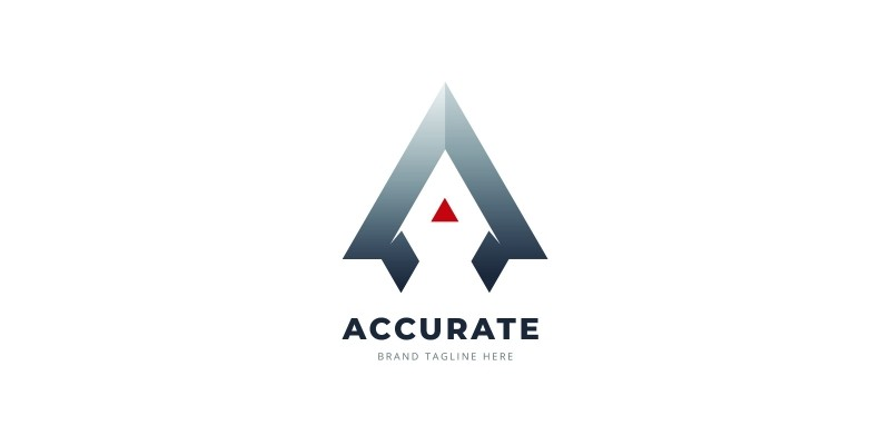 Accurate Letter A Logo