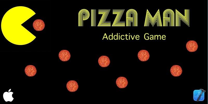 PizzaMan Game - Source Code iOS