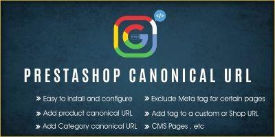Prestashop Canonical URL Module