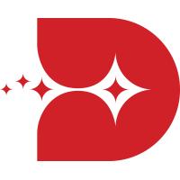 Letter D Sparkle Logo