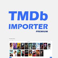 Premium Wordpress TMDb Importer Plugin