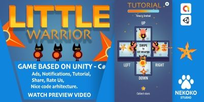 Little Warrior - Unity Source Code