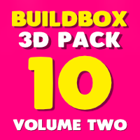 Buildbox 3D Pack - 10 In 1 - Volume Two