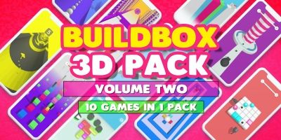 Buildbox 3D Pack - 10 In 1 - Volume Two