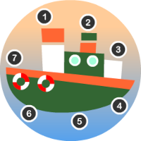 Edukida Point to Point - Ships Unity Kids Game