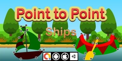 Edukida Point to Point - Ships Unity Kids Game
