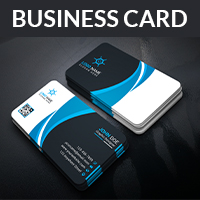 Creative Business Card With Vector Format