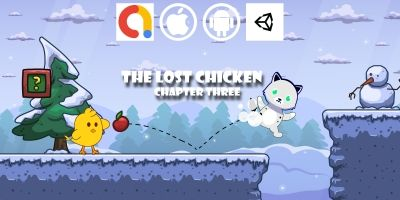 The Lost Chicken - Chapter 3 Unity Platform Game