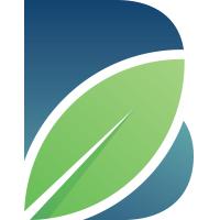 Letter B Leaf Logo
