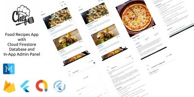 Chef- Flutter Recipes Full App Templates