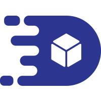 Letter D Delivery logo