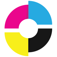 CMYK Printing Logo