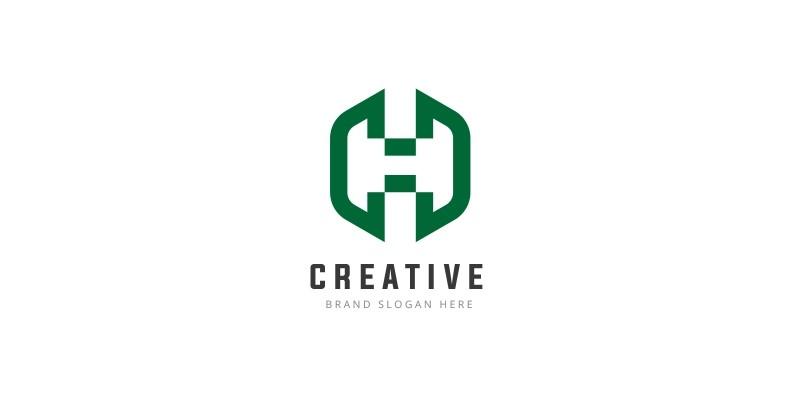Unique Letter H Logo