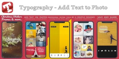 Typography – Add Text to Photo With AdMob iOS
