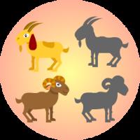 Edukida - Domestic Animals Shapes Unity Kids Game