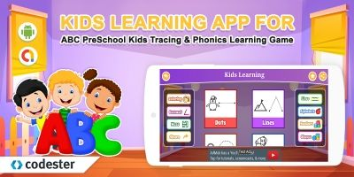 Android Kids Learning For ABC PreSchool Kids