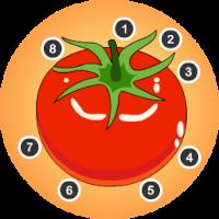 Edukida Point to Point Vegetables Unity Kids Game
