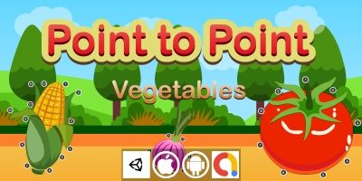 Edukida Point to Point Vegetables Unity Kids Game