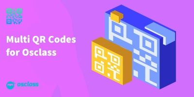Multi QR Codes For Osclass