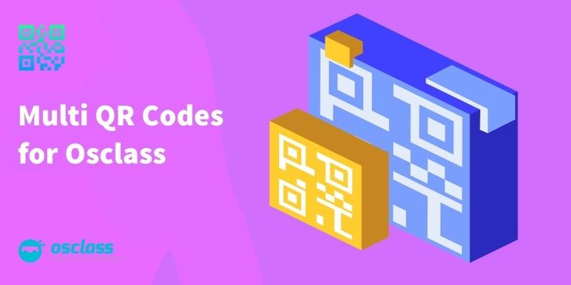 Multi QR Codes For Osclass