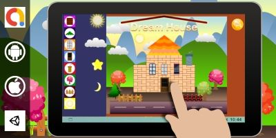 Dream House Unity Kids Game With Admob