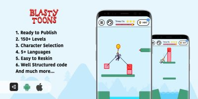 Blasty Toons : Gibbets Unity Source Code