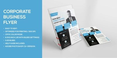 Simplistic Business Flyer Template