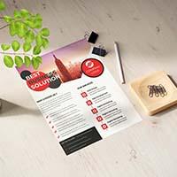 Business Marketing Flyer Template
