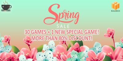 Spring Sale - 31 Buildbox Games