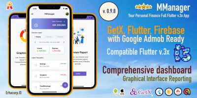 MManager - Flutter Application  With Admin Panel