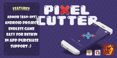 Pixel Cutter - Buildbox Template