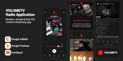 VolumeTV- Live Streaming & Radio Station iOS