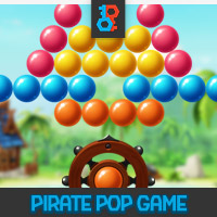 Pirate Pop Bubble Shooter Unity Game Template