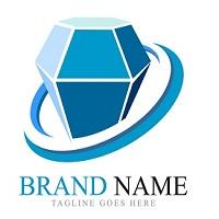 Simple And Modern Gem Logo Template