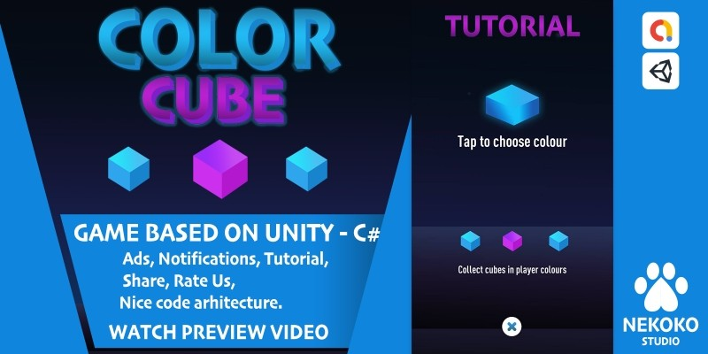 Color Cube - Unity Project
