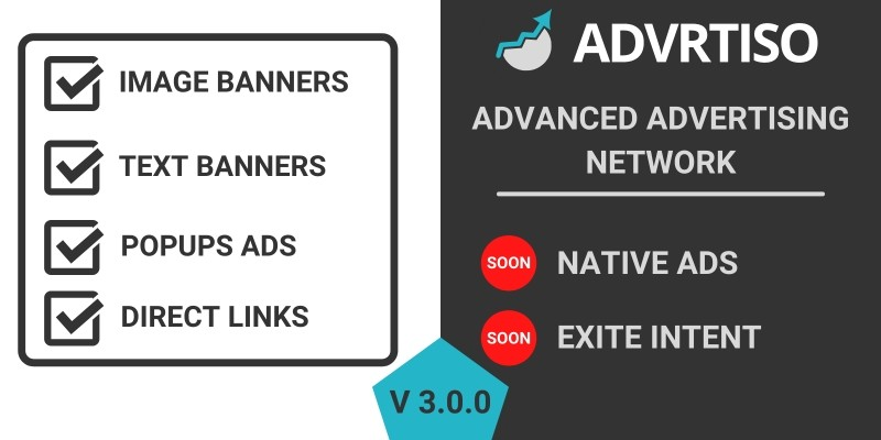 AdVartiso - Advanced Advertising Network PHP
