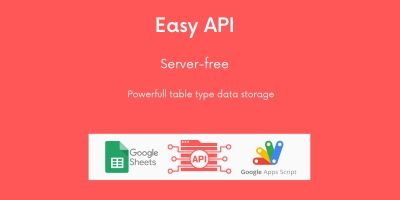 Easy API - Server-free