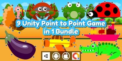 Edukida - 9 Point to Point Kids Games in 1 Bundle