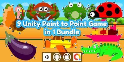 Edukida - 9 Point to Point Kids Games in 1 Bundle