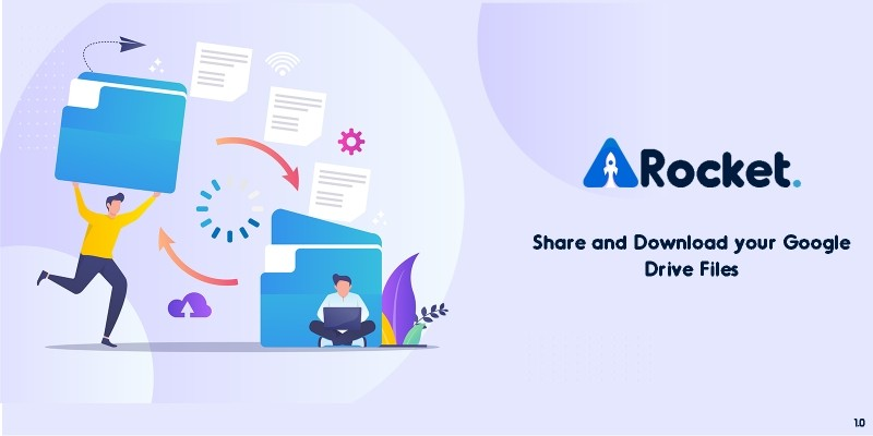 Drive Rocket - Share your Google Drive Files